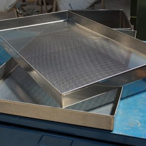 Perforated Iron Baking Pans
