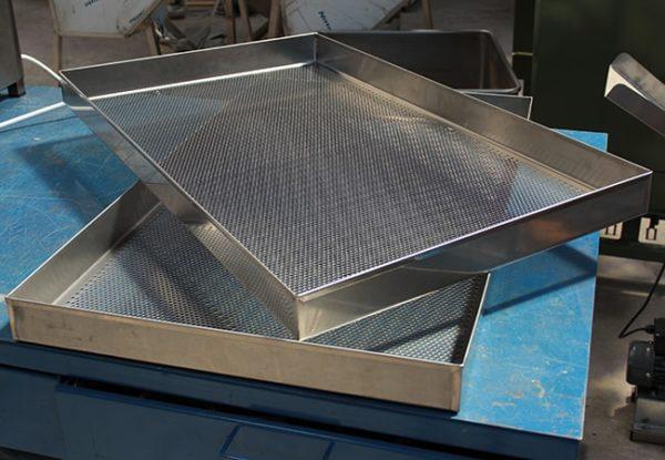 Perforated Iron Baking Pans