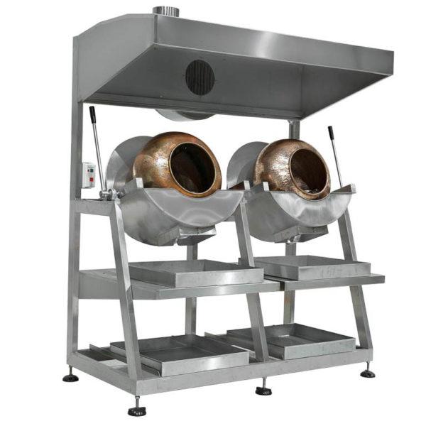 Dry Nut Caramelizer - Sugar Coating Machine