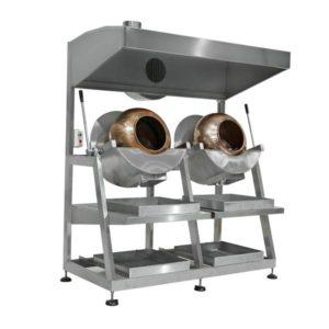 Dry Nut Caramelizer Sugar Coating Machines