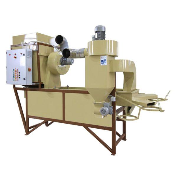 Dry Nut Cracking Shelling Machine