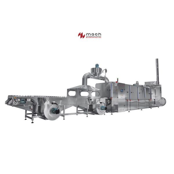Dry Nut Hot Air Tunnel Roaster ΤΑ3 1200