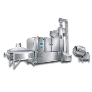 Dry Nut Hot Air Tunnel Roaster TA3-300