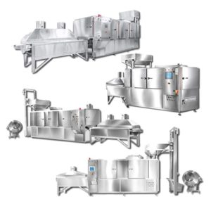 Dry Nut Hot Air Tunnel Roasters