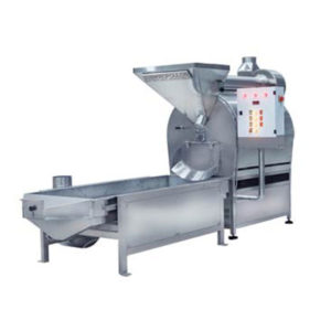 Dry Nuts Gas Rotary Roaster